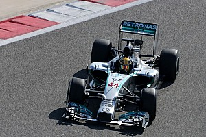 Formula 1 Testing report Hamilton goes fastest on day three of Bahrain test