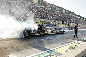 NHRA Qualifying report Schumacher shoots to No. 2 seed going into Sunday's Phoenix eliminations