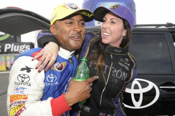 DeJoria, Brown and Johnson race to victories in Phoenix