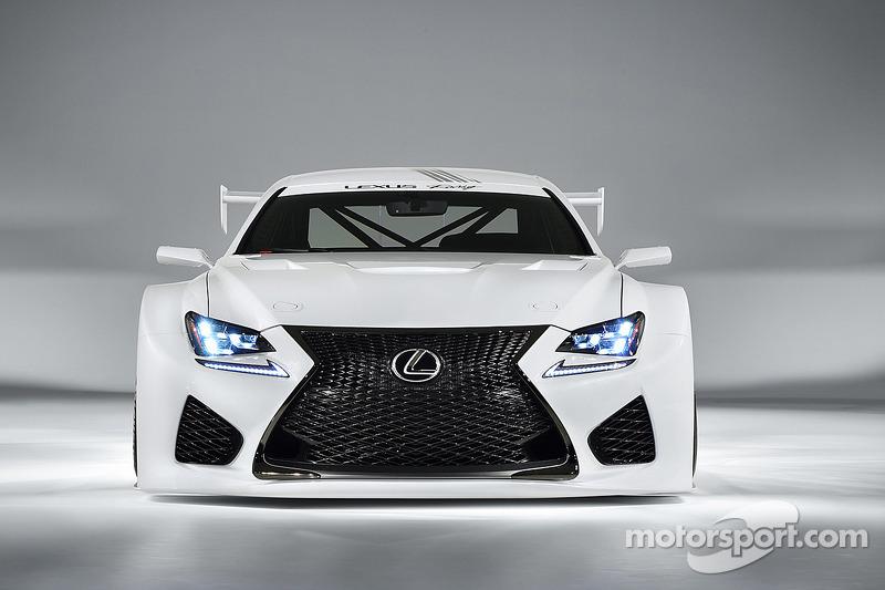 Lexus GT3 concept revealed