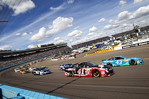 NASCAR Cup Race report Busch's day spoiled by engine failure at Phoenix
