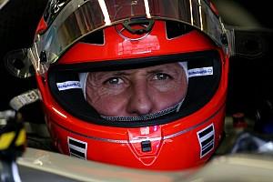 Formula 1 Breaking news Schumacher no longer on respirator - report