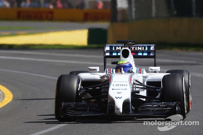 Fairly straightforward day for Williams Martini Racing at Melbourne