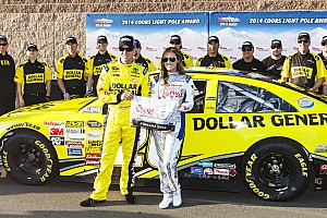 NASCAR Cup Qualifying report Matt Kenseth captures pole for Auto Club 400