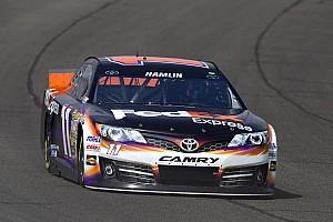 NASCAR Cup Analysis Denny Hamlin feeling positively chipper for Fontana return