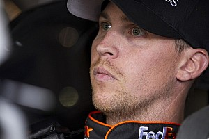 NASCAR Cup Breaking news Denny Hamlin out for Fontana, Hornish in