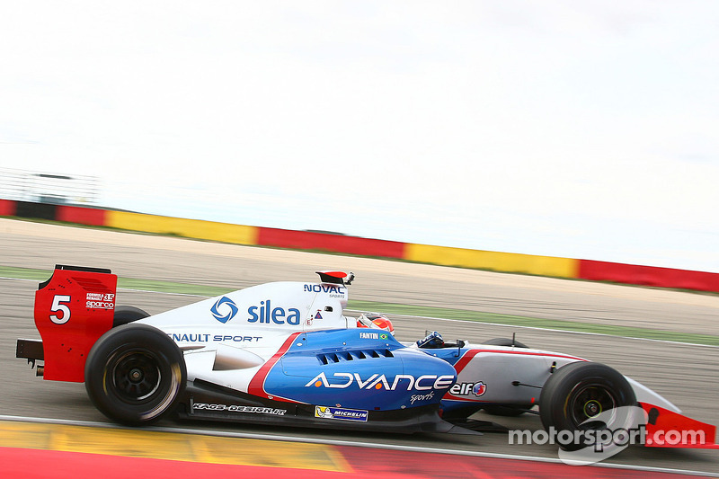 Spotless day for Fantin and Ghiotto in Jerez