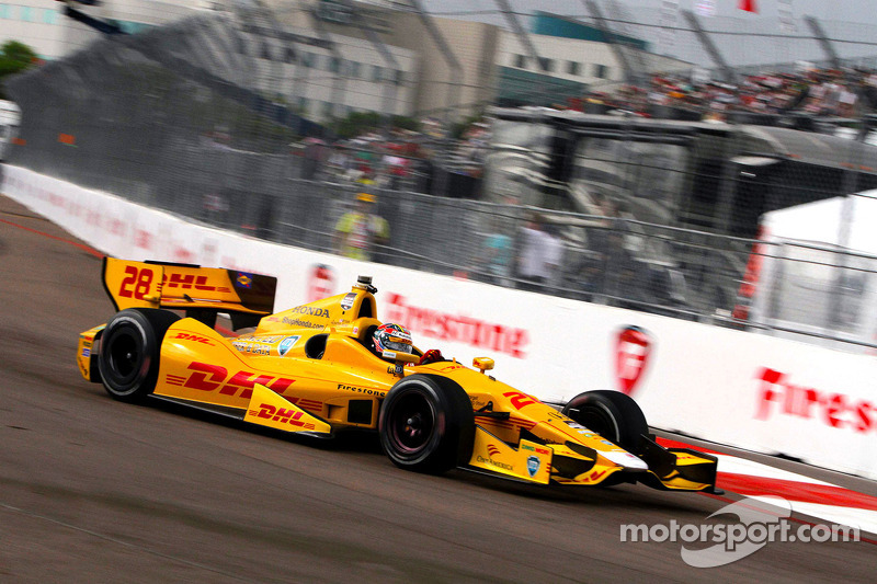 Andretti Autosport well qualified at St. Pete