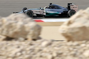 Formula 1 Practice report Mercedes lead P2 at Bahrain GP with Hamilton in front