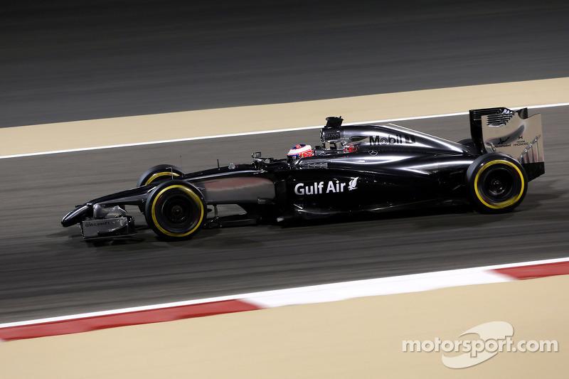 A straightforward practice day for McLaren at Bahrain