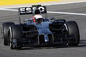 Formula 1 Testing report Bahrain testing day one - McLaren Mercedes