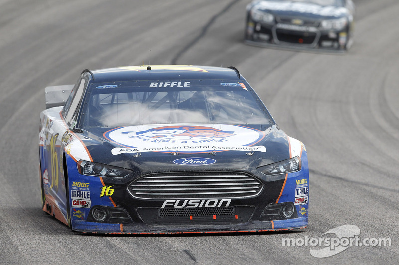 Greg Biffle wants to continue driving for Roush-Fenway Racing