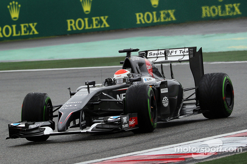 Mixed feeling for Sauber drivers after qualifying at China