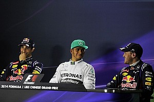 Formula 1 Press conference 2014 Chinese Grand Prix - Qualifying press conference