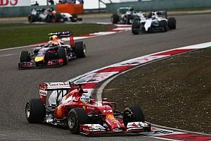 Formula 1 Race report Ferrari in China: Best of the rest