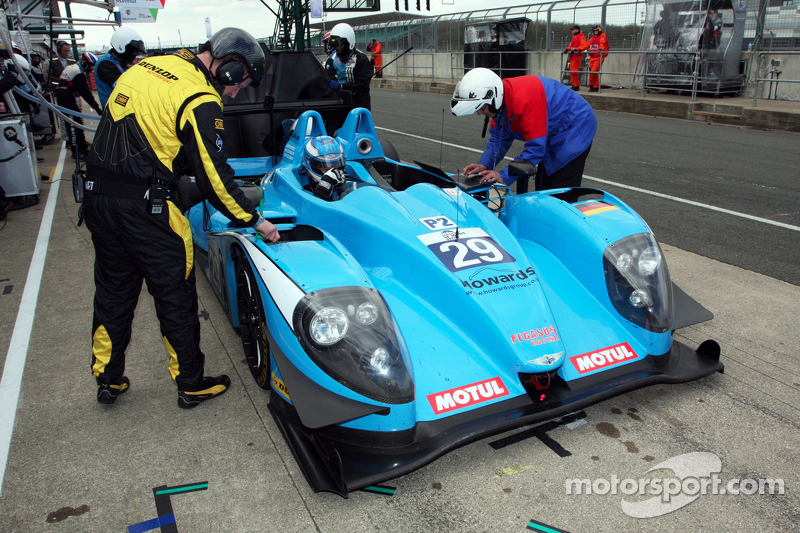 Pegasus Racing shows good pace but forced to retire on ELMS return