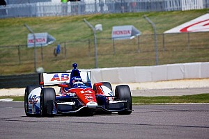 IndyCar Qualifying report Sato qualified 14th at Alabama