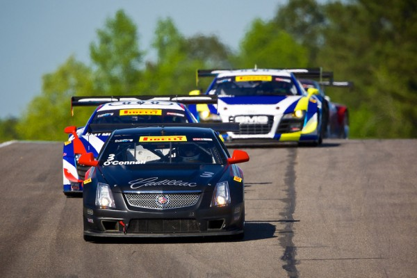 Cadillac Racing third and seventh in second at Barber Motorsports Park
