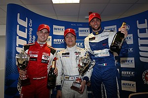 Auto GP Race report Budapest, race-1: Kimiya Sato consolidates points lead with win
