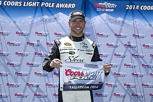 NASCAR Cup Qualifying report Brian Scott earns first Sprint Cup pole at Talladega