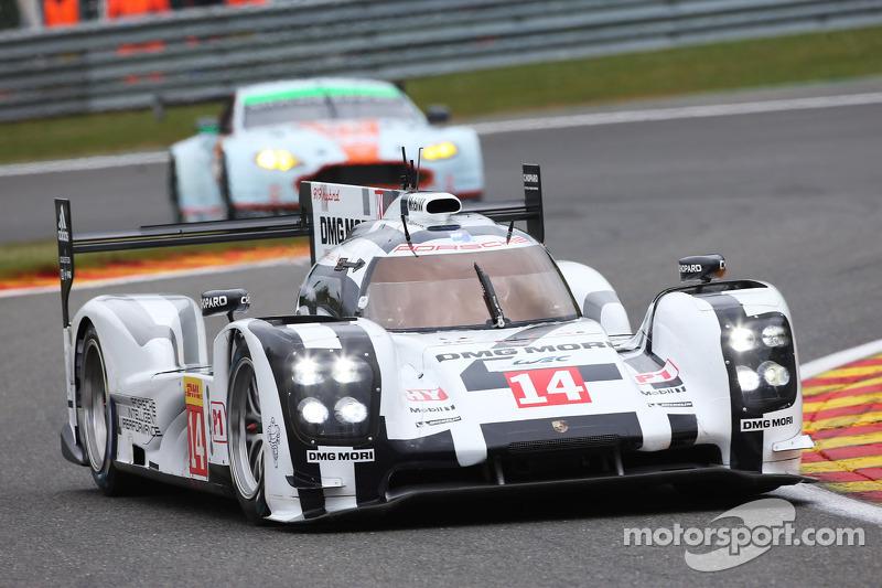 New Porsche 919 Hybrid finishes fourth in Spa