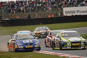 BTCC Race report Honours shared in Thruxton thriller