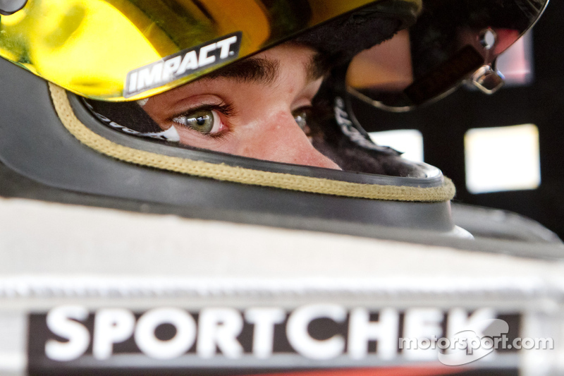 Alex Guénette impressive in debut ARCA race at Talladega