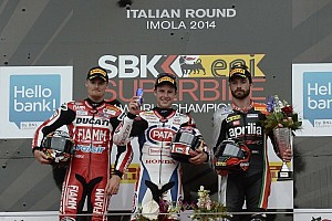 World Superbike Race report Rea takes double and becomes championship leader