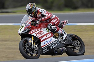 World Superbike Testing report The Ducati Superbike Team concludes a one-day test at Imola