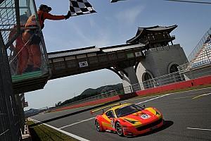 GT Race report Surprise victors in opening round of GT Asia in Korea