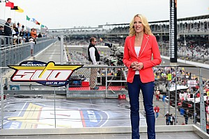 IndyCar Interview Czarniak returns as host for ABC's Indianapolis 500 telecast
