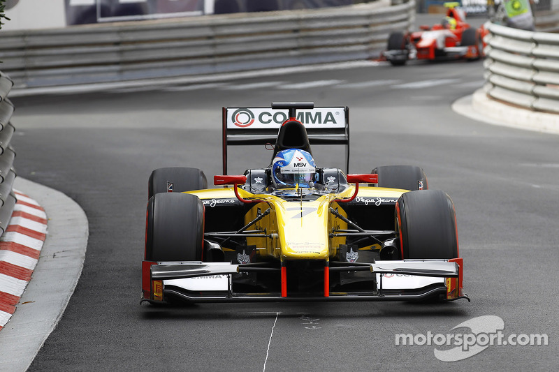 Palmer wins action-packed feature race at Monaco