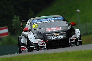 WTCC Qualifying report Morbidelli ends Citroën pole streak