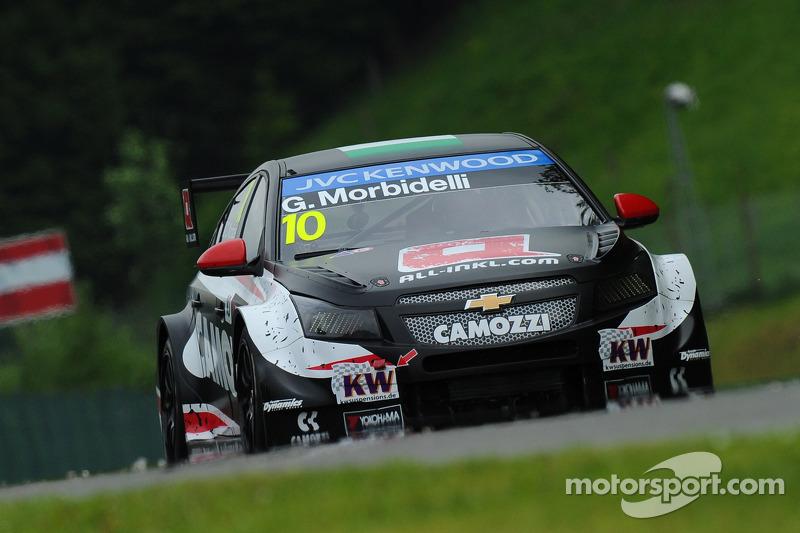 Morbidelli ends Citroën pole streak