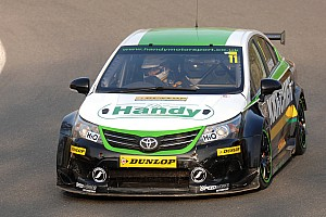 BTCC Preview Monumental effort gets Belcher back on BTCC grid for Oulton Park