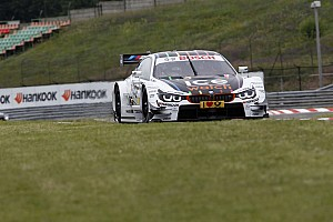 DTM Race report Wittmann and Glock on the front row at the Hungaroring