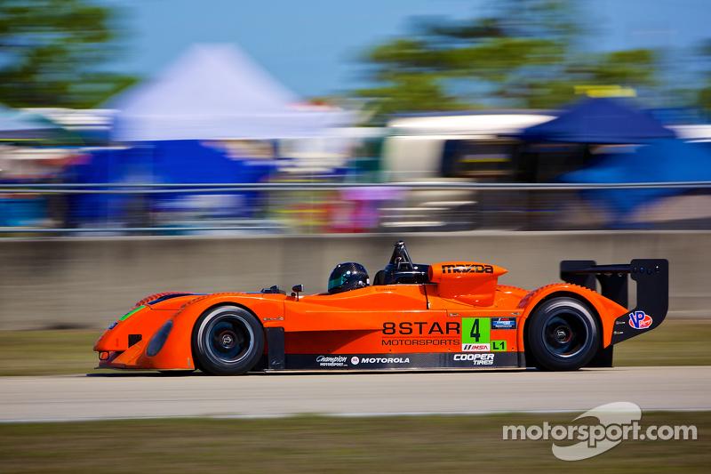 8Star set on podiums in TUDOR and Prototype Lites Championships at Kansas