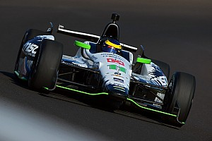 IndyCar Race report Racing incident ends strong drive by Sebastien Bourdais in Firestone 600