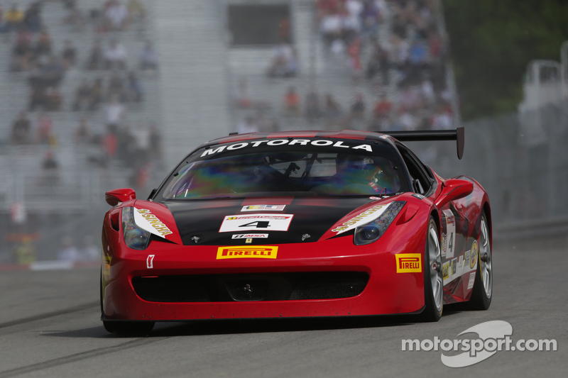 Three podiums for Scuderia Corsa in Montreal