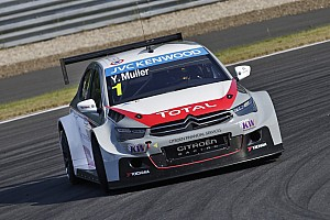 WTCC Qualifying report Citroën drivers tame the Raidillon
