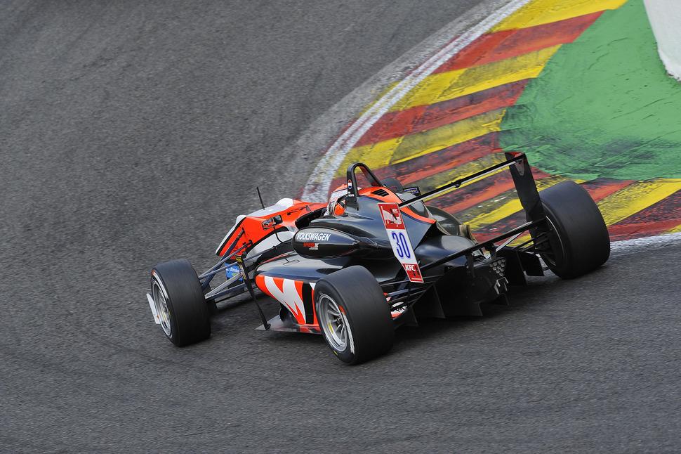 Full house for Verstappen at Spa