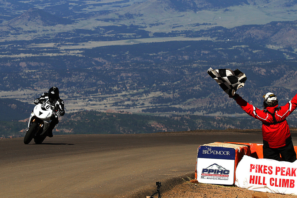 Hillclimb Bobby Goodin Pikes Peak Motorcycle Safety Fund established to honor Pikes Peak rider