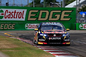 Supercars Race report Whincup survives to win carnage-filled first race in Townsville
