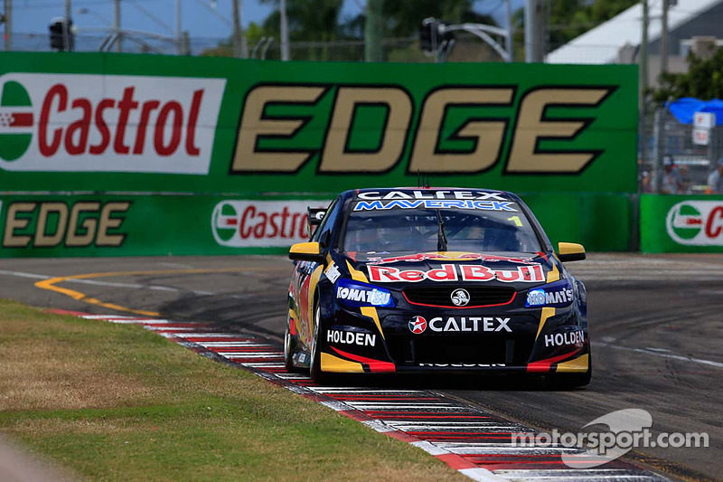Whincup survives to win carnage-filled first race in Townsville