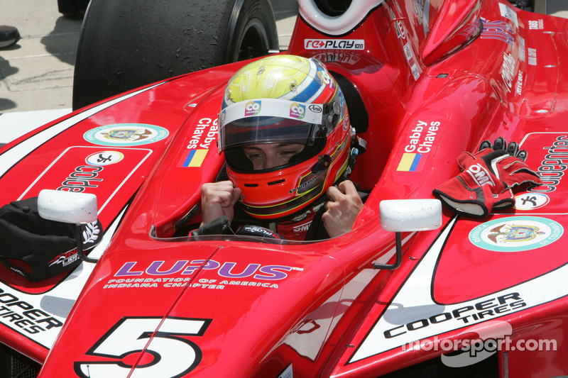 Gabby Chaves victorious in Indy Lights race at Pocono