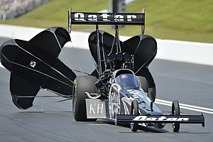 NHRA Qualifying report Top Fuel champion Langdon leads NHRA qualifying