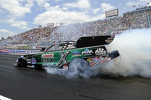 NHRA Race report John Force muscles his way to 140th NHRA career win