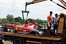 Raikkonen to miss Silverstone test after crash