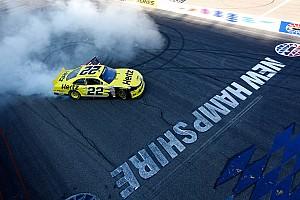 NASCAR XFINITY Race report Keselowski dominates Nationwide race at New Hampshire