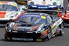 Title fight goes on at Silverstone for Montermini and Schirò